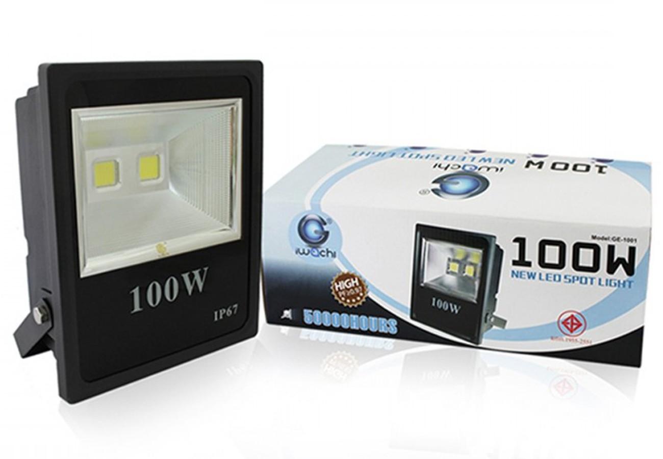 สปอร์ตไลท์ LED 100w (วอร์มไวท์) IWACHI