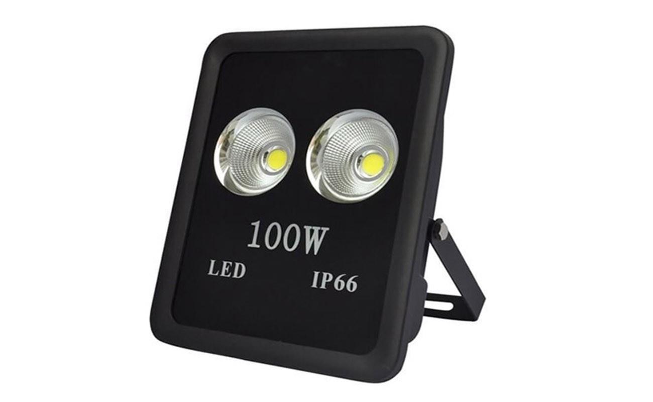 สปอร์ตไลท์ led 100w วอร์มไวท์ ml light