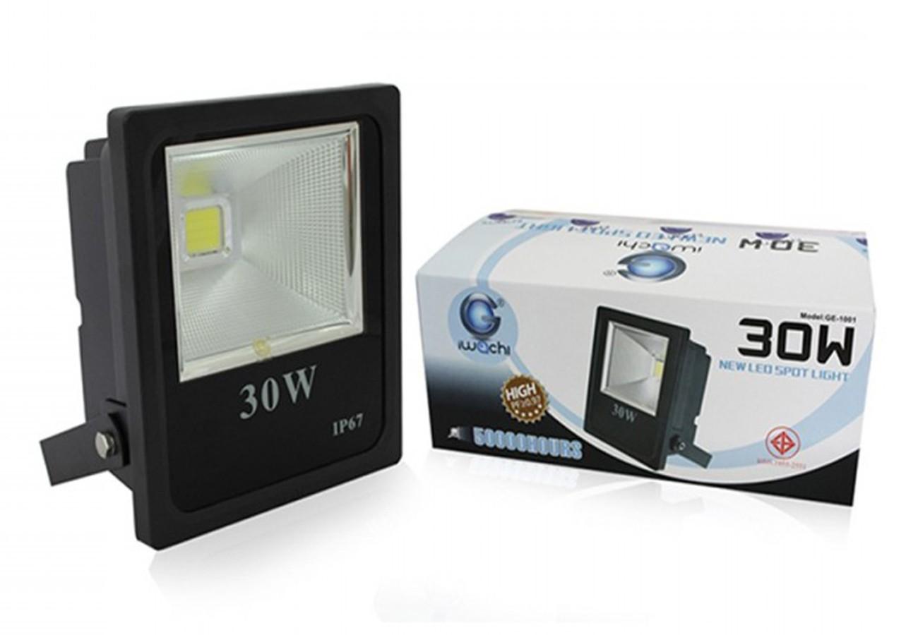 สปอร์ตไลท์ LED 30w SPL-A (เดย์ไลท์) IWACHI