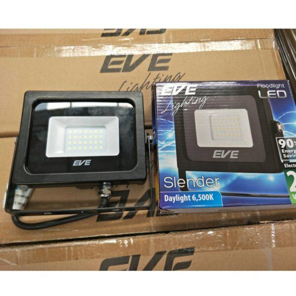สปอร์ตไลท์ LED Slender 20w (เดย์ไลท์) EVE