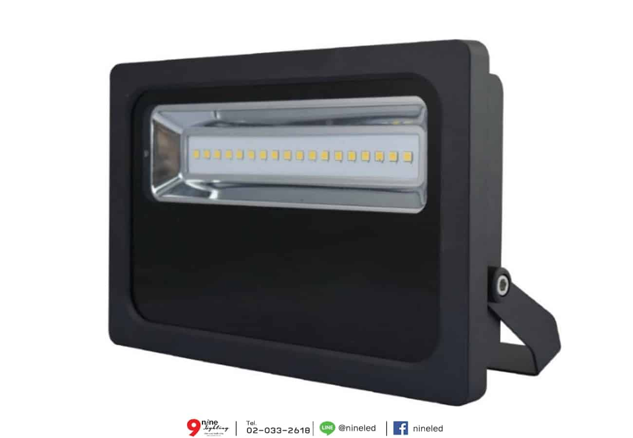 สปอร์ตไลท์ LED FXFDL 100w (วอร์มไวท์) EVE