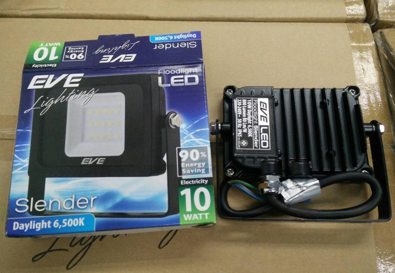 สปอร์ตไลท์ LED Slender 10w (เดย์ไลท์) EVE