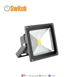 สปอร์ตไลท์ LED 10w (เดย์ไลท์) Switch