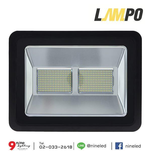 สปอร์ตไลท์ LED 200w FIT LAMPO (วอร์มไวท์)