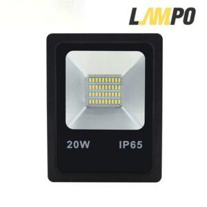 สปอร์ตไลท์ LED20w FIT LAMPO (วอร์มไวท์)