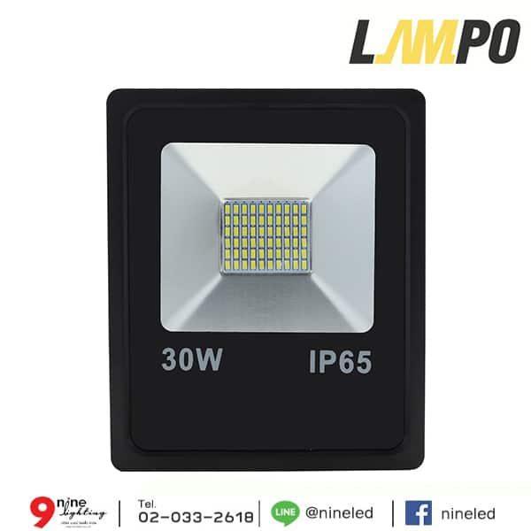 สปอร์ตไลท์ LED 30w FIT LAMPO (เดย์ไลท์)