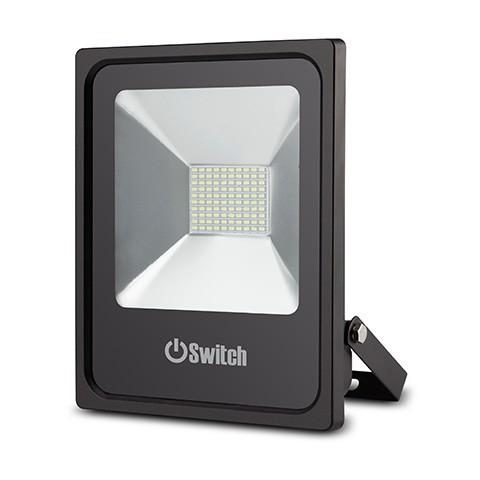 สปอร์ตไลท์ LED 50w รุ่น SMD ECO ยี่ห้อ Switch (แสงส้ม)
