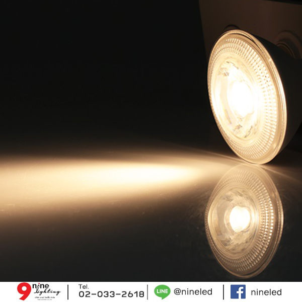 หลอด LED Par30 ขั้วE27 ขนาด 10w ยี่ห้อ EVE (วอร์มไวท์)