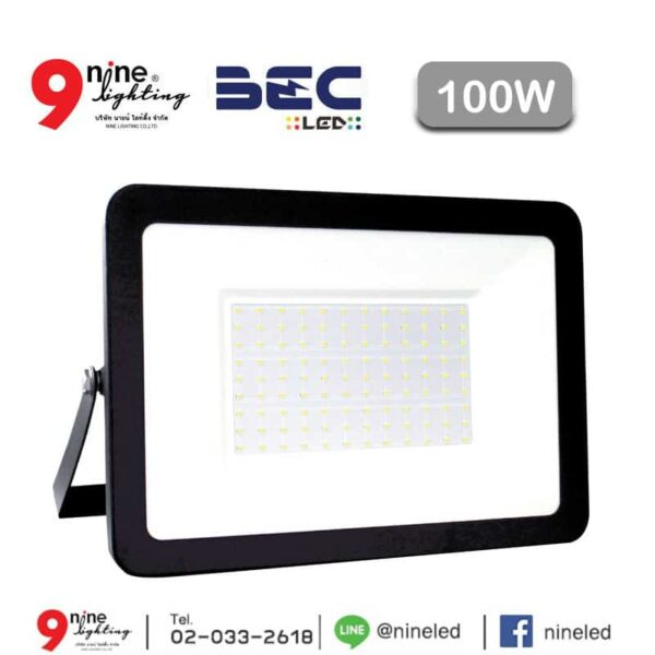 สปอร์ตไลท์ LED 100w Zonic ยี่ห้อBEC