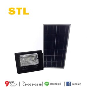 สปอร์ตไลท์โซล่าเซลล์ LED 30W STL 8830