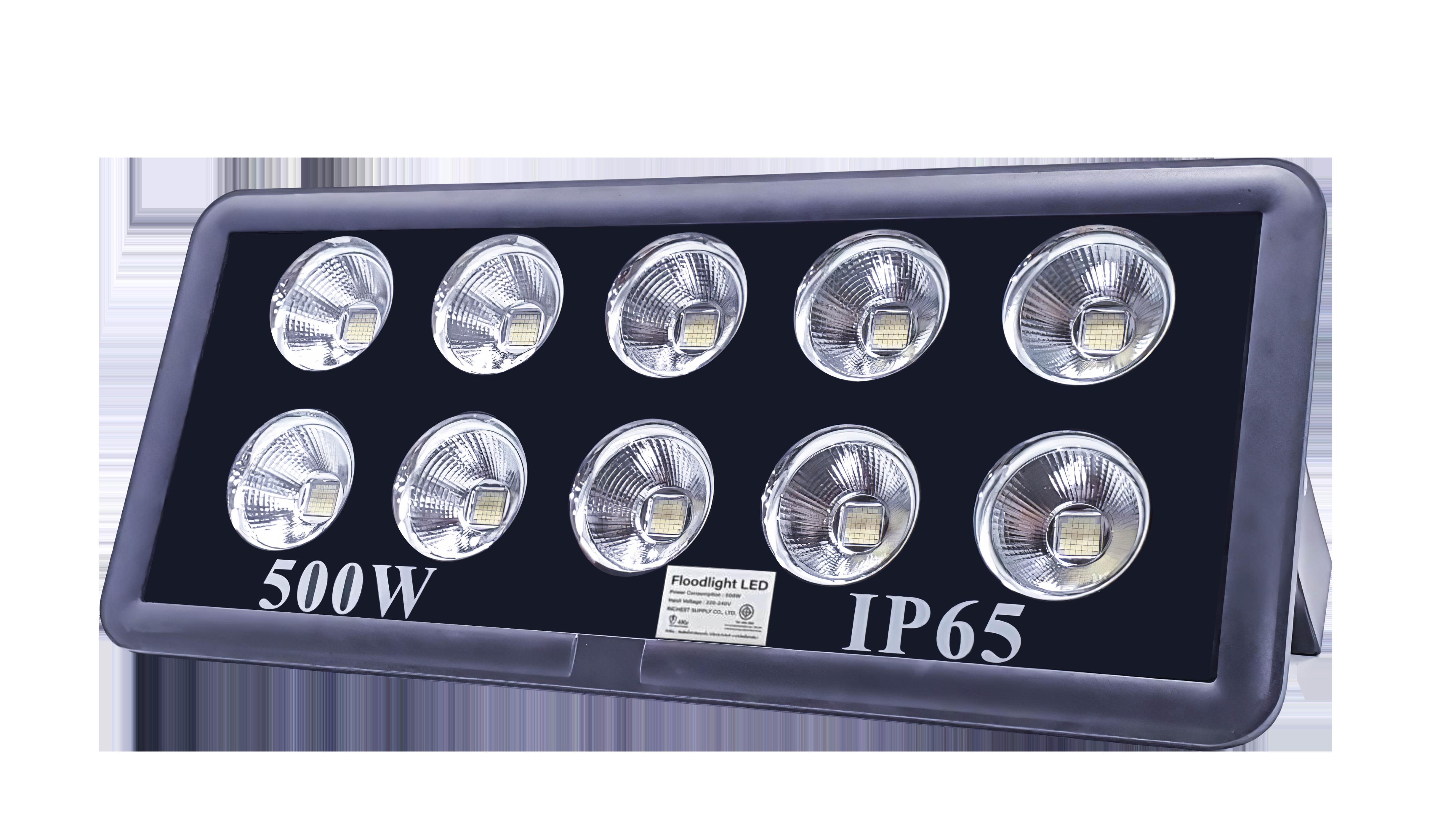 สปอร์ตไลท์ LED 500W RICHLED COB