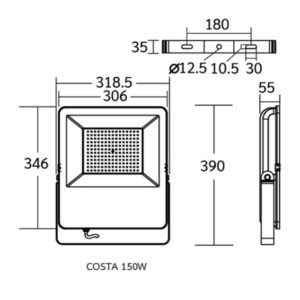 Dimension COSTA 150w