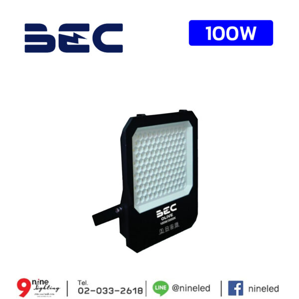 Floodlight OLIVE BEC 100W