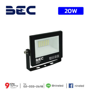 สปอร์ตไลท์ LED 20w BEC Zonic II